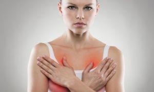 Болит грудь и задержка – симптомы беременности и патологий