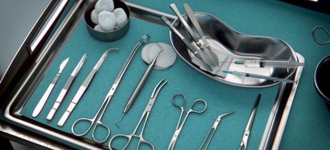 Виды хирургического инструментария