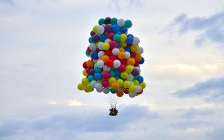 Как долго летают гелевые шары?