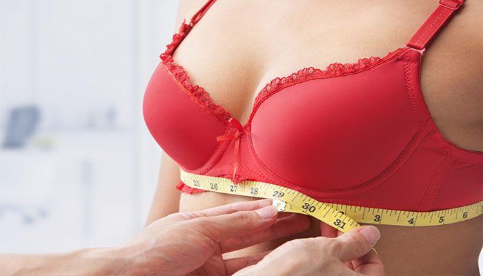 Правильно подобранное по размеру белье поможет избежать проблем с кожей груди