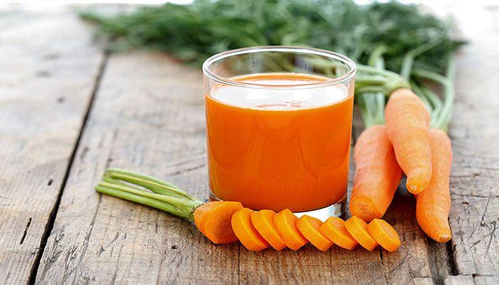 Морковный сок - кладезь витаминов