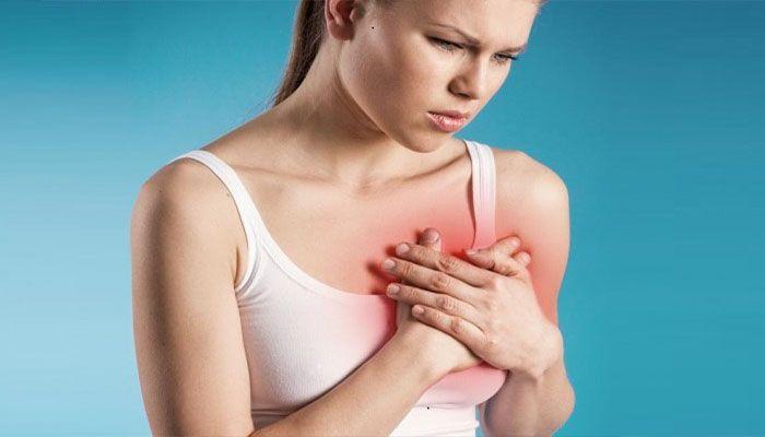 Боль в груди может быть симптомом развития серьезных заболеваний
