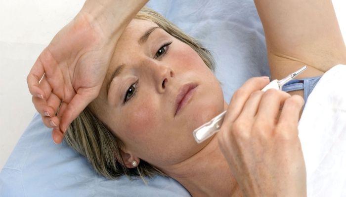 Температура - возможный симптом заболеваний груди