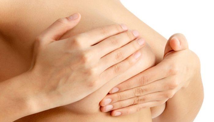 Ощупывание железы