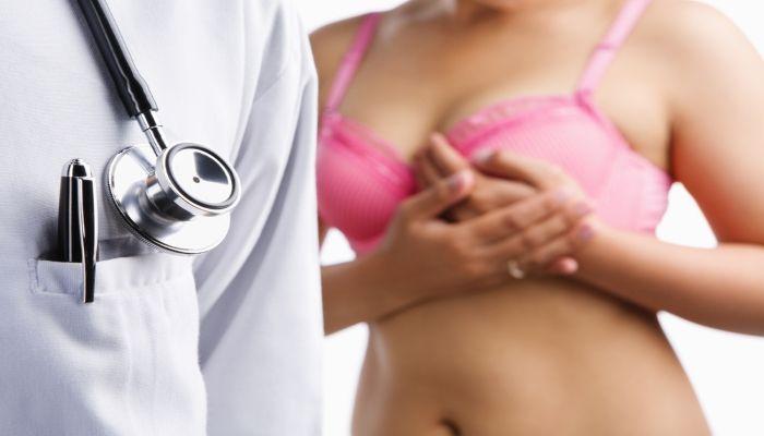 Покраснение груди при лактостазе