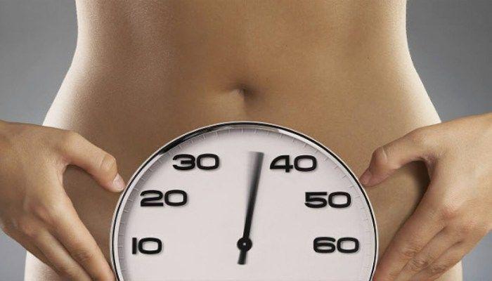 Время до менопаузы