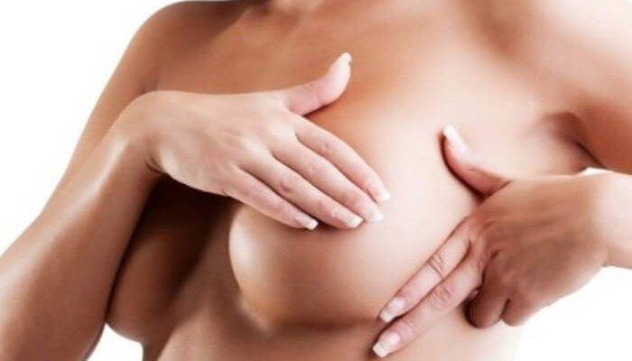 Прощупывание груди и соска