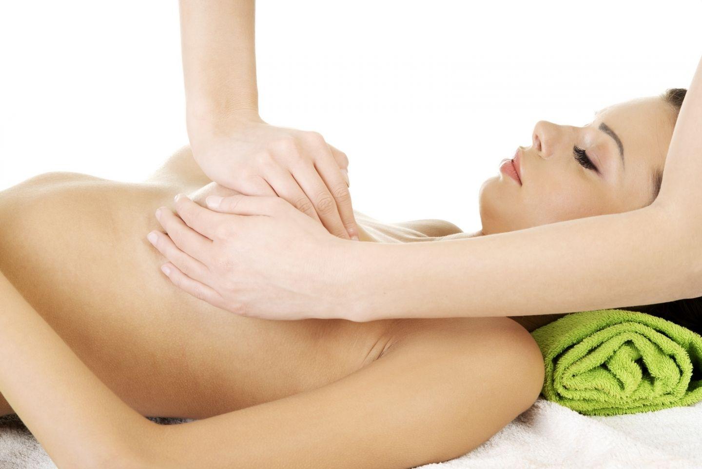 массаж груди