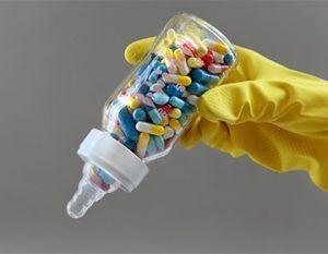 капсулы в бутылочке