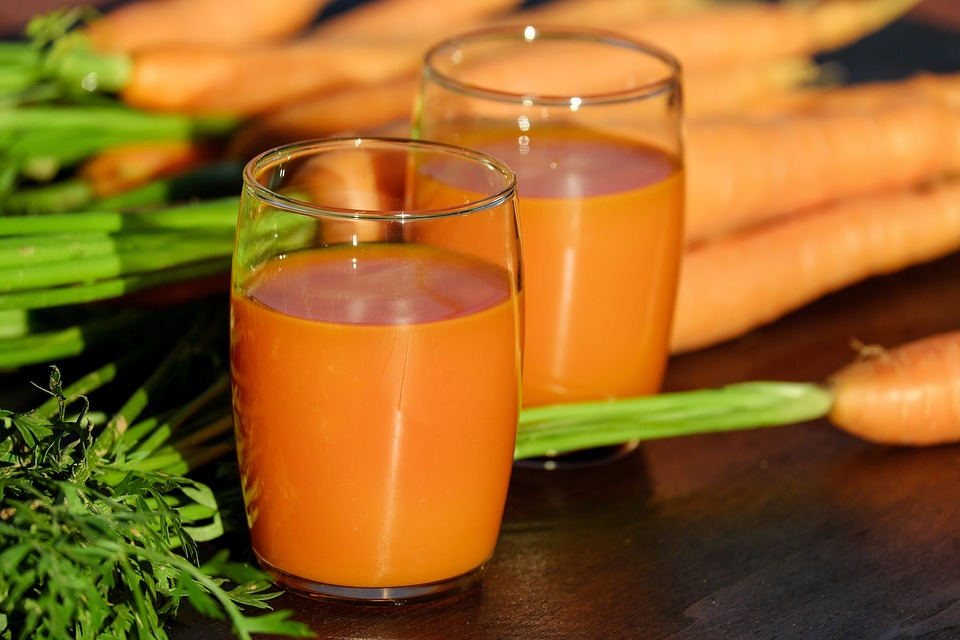 Морковный сок при повышенном уровне кортизола и пролактина
