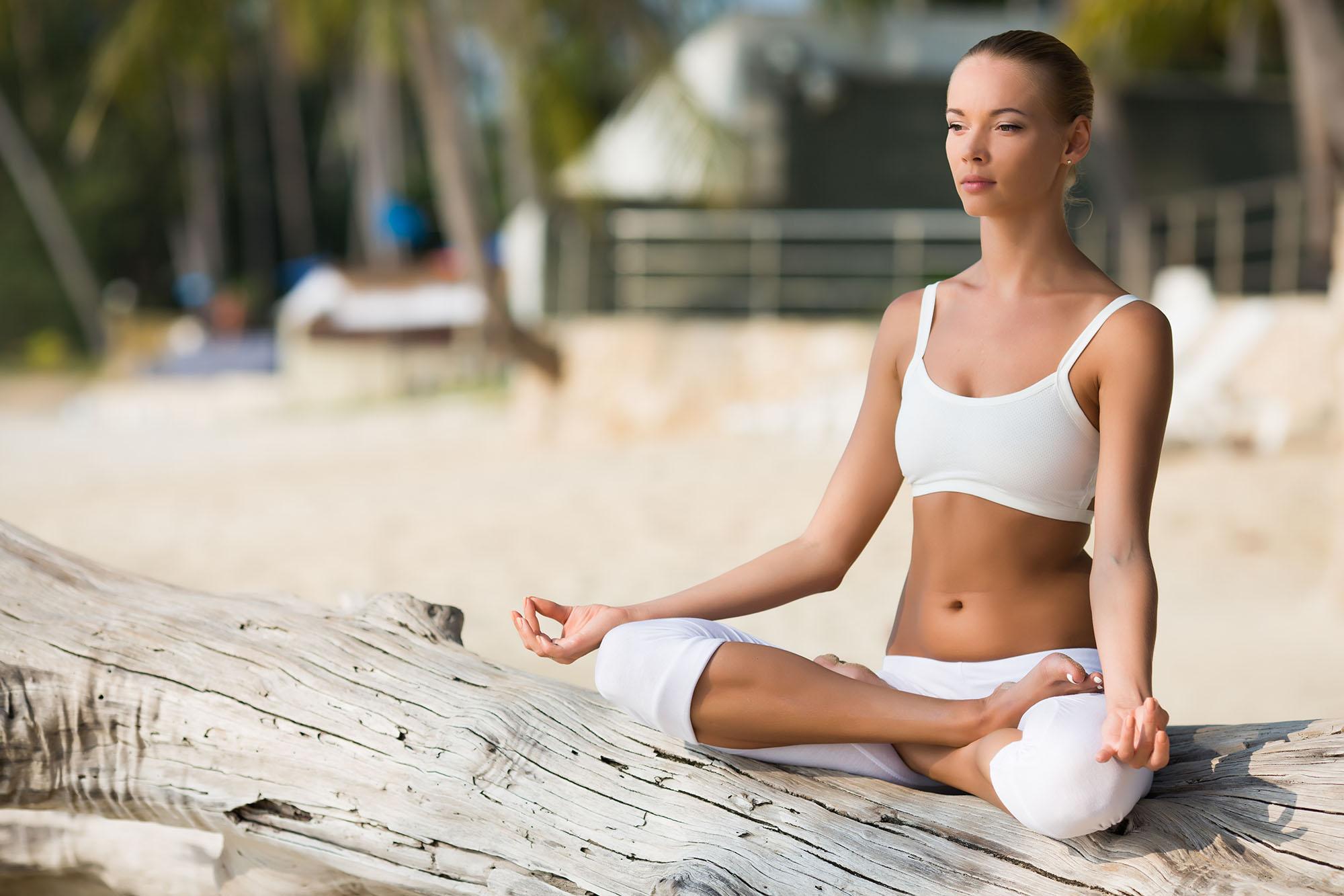 Йога на свежем воздухе