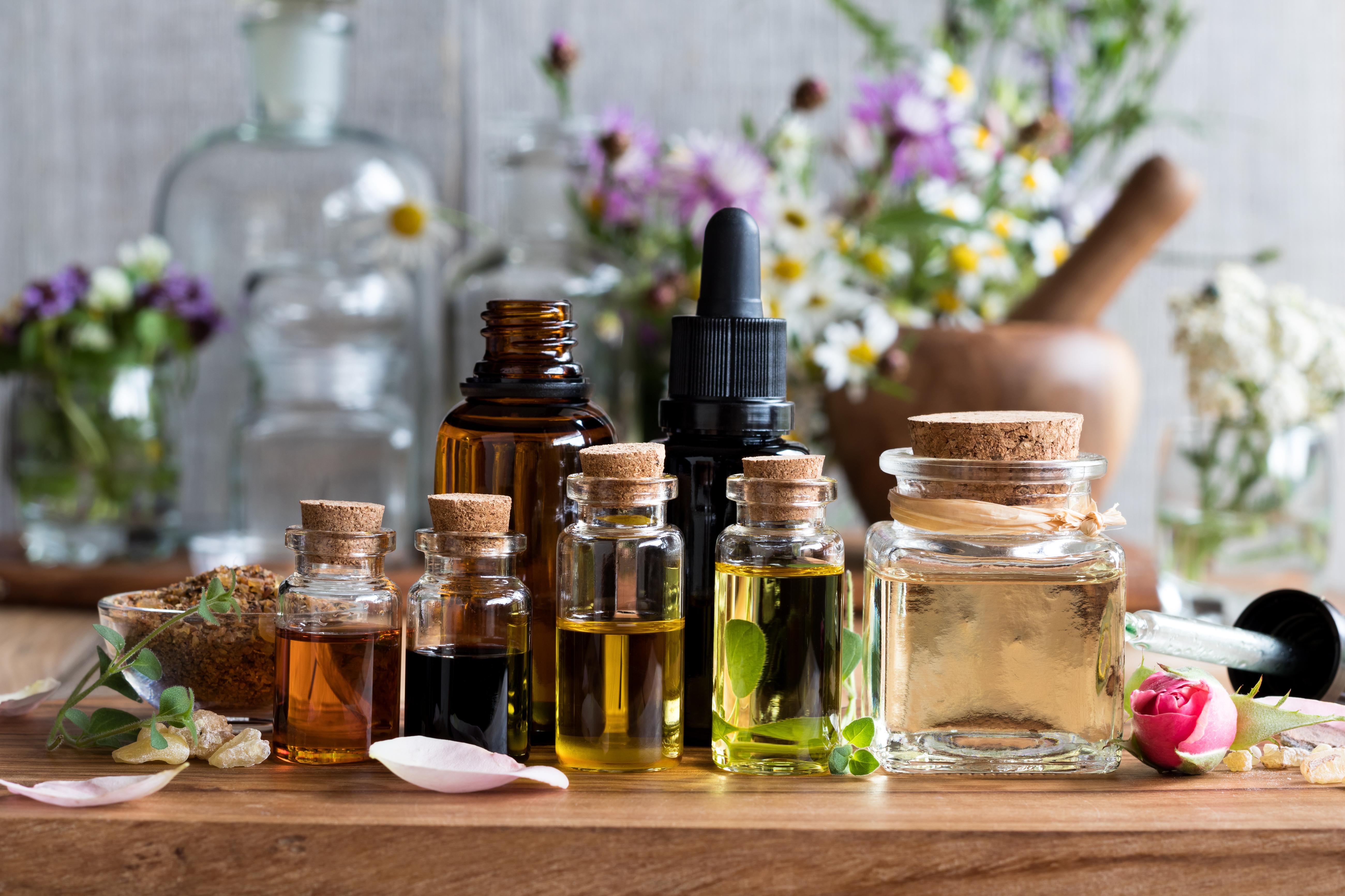 Средства с натуральными маслами